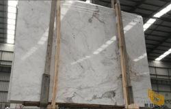 De Witte Marmeren Steen van Castro voor Plakken/Bevloering/Countertop/Badkamers/Tegels/Comité het Achtergrond van de Muur/de Tegel van de Vloer