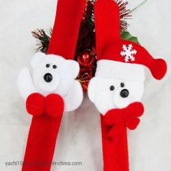 卸し売りクリスマスのプラシ天のおもちゃのブレスレットの混合された文字非難のブレスレットXmasのギフト