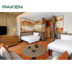 Meubles adaptés aux besoins du client en gros d'hôtel 5 étoiles pour des meubles de chambre à coucher