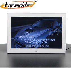 Venda por grosso de montagem na parede de vídeo HD player 15.6 polegadas Moldura Fotográfica Digital Android para Bank Hotel Campanha de Publicidade