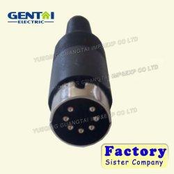장군 7 Pin DIN 전원 연결 장치 마이크로 DIN 연결관