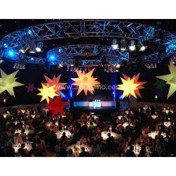 Feliz Navidad, Decoración de Navidad inflable de la luz de Estrella de la IW010