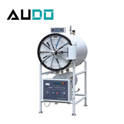WS-150A 150L جهاز التعقيم بالبخار بموجات الضغط الأفقي Cylindrical Pressure بموجات تنافسيّة