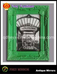 Décoratifs en bois massif sculpté à la main d'image/Photo Frame