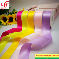 """1/8""""~4"""" de simple/doble de poliéster frente cinta de satén y cintas para prendas de vestir o la decoración/envase y embalaje"""