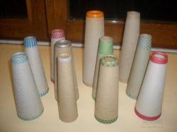 Industria textil de cartón automática máquina de hacer el cono de papel de hilo