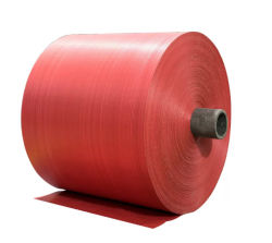 Rouleau de tissu PP haute résistance de charge pour le PP sacs tissés
