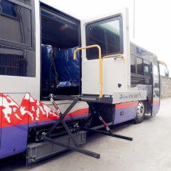 [س] يقصّ كرسيّ ذو عجلات مروع لأنّ حافلة هيدروليّة كرسيّ ذو عجلات مصعد