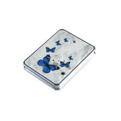 Schönheit Hotsale chinesische Art-Blumen-Quadrat-Spiegel für Geschenke