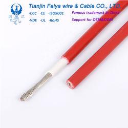 Ce Wssc TUV aprobado de 2,5 mm2 4mm 2 a 6 mm2 DC Single Core Cable PV Solar Panel solar fotovoltaico de cable Cable
