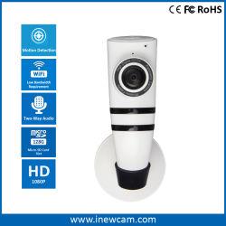 دعم كاميرا IP بتقنية Wi-Fi® من نوع Smart Home ثنائية الاتجاه للصوت بدقة 1080p بطاقة SD 64G