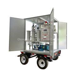 La energía eléctrica 6000L/h el vacío de tipo móvil Planta de filtración de aceite del transformador