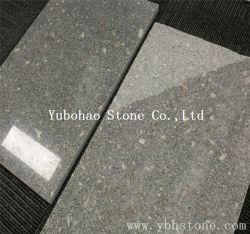 Piastrelle di granito bianco perla spazzolato/lucidate/con finitura/fiammate per interni/esterni Parete/pavimento