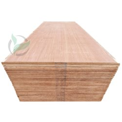 L'impiallacciatura 21ply di Keruing asciuga il compensato impermeabile del legno duro del pavimento del contenitore