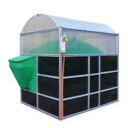 Montage-Biogas-Pflanzendigestor der kleiner Minihauptgebrauch-beweglicher Montage-3m3 für das Kochen von Beleuchtung/von Heizung und von Elektrizitätserzeugung