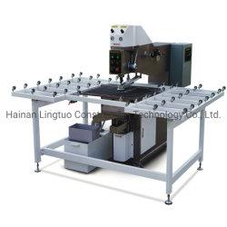 평면 유리 CNC 통제 또는 반 자동 유리제 드릴링 기계