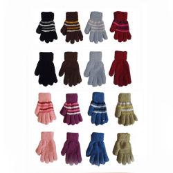 Dame d'hiver de façon chaleureuse confortable gant magique de fils