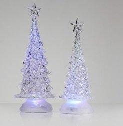 LEDクリスマスの季節のアクリルのChritmasの木の机ライト