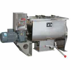 Escala de laboratorio en forma de U Hozitontal batidora mezcladora máquina mezcladora de cinta de alimentación