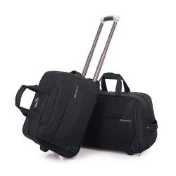 Hot Sale Fabric Travel Duffle Bag Met Trolley Wheels