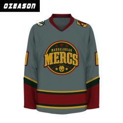 Equipo OEM de capacitación de jóvenes niños camisetas de Hockey sobre Hielo (H023)