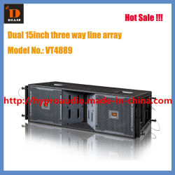 "Venta de Hot Line Array --VT4889 altavoz vertical doble 15"" (2700W) , Altavoz PRO"