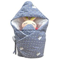 Детское одеяло Swaddle Sleep мешок толстая подкладка из флиса Swaddling одеяла разделить ноги мягкий теплый для ванной, кондиционированных, осенью Esg10383