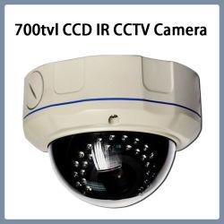 Camera van kabeltelevisie CCD van de Koepel van IRL van de Veiligheid van het toezicht 700tvl 960h Vandal-Proof