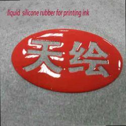 Material de silicone brilhante para serigrafia na peça de roupa