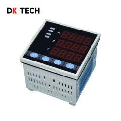 Mesure de la RMS vrai d'ampèremètre avec alarme de contrôle d'alimentation triphasé