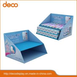 Boîte d'affichage du papier carton Présentoir de comptoir