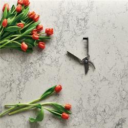 Custom Каррарским кварцевого камня стола кухонным шкафом мраморной поверхности стола