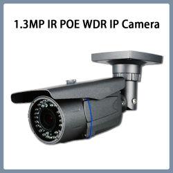 Sensor CMOS de 1,3 MP WDR IR à prova de bala câmera de segurança CCTV IP