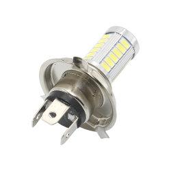 H4 Lampe LED blanc froid de phare de voiture 33 SMD 5730 Ampoule projecteur de feu de brouillard Auto Automobile 12V DC