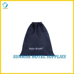 Black Eco-Friendly Secador de cabelos saco com logotipo