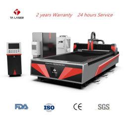 CNC 1000W Laser-Scherblock-Faser-Laser-Ausschnitt-Maschinen-Gerät für Kohlenstoffstahl, Edelstahl-Ausschnitt