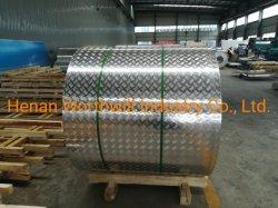 Piatto Chequered laminato a freddo della lega di alluminio con il certificato dello SGS ASTM GB