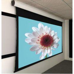 """92"""", ecrãs Tab-Tensioned eléctrica /Remote Ecrã de projecção com Projeção traseira"""
