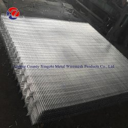 75mmx12,5mmx3mm Schweißgeflecht für 358 Mesh Panel Security Fencing