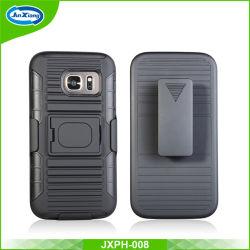 Caso Telefone móvel de plástico duro para a Samsung S7