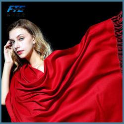 El invierno señoras Pure Cashmere Venta caliente larga bufanda chal Pashmina