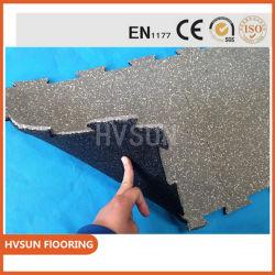 Os blocos de borracha de Segurança Exterior Hvsun/Pt1177 Segurança titulados Deck Pavimento de tejadilho de Borracha