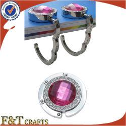 Mulher de beleza topo Saco de metal cabides FTLG3013personalizada de Cristal (UMA)