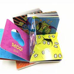 Stampa educativa del libro dei bambini della scheda di stampa operata all'ingrosso del libro