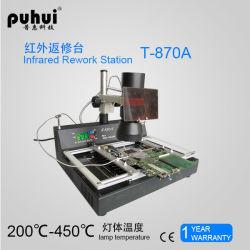 220V評価される電圧および帯電防止、温度の調節可能な機能移動式修理のBGAの改善端末T870Aのはんだ付けするツール、赤外線改善端末