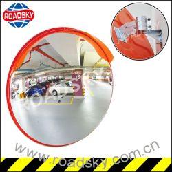 Les terrains de stationnement Vue arrière de la sécurité du trafic incurvée miroir convexe en plastique
