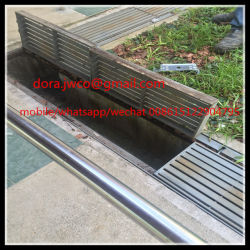 المواد الفولاذية الساخنة المغلفنة غطاء القناة الصلب المبشور
