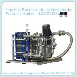 Пластина для теплообменника внутреннего блока горячей воды
