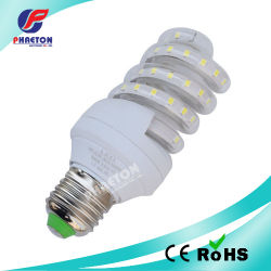 LED Energie-Einsparung Bulb Spiral Type E27 7W White (pH6-3016)