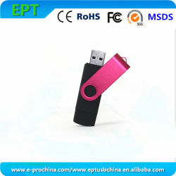 Aandrijving van de Flits van de Schijf USB van het Geheugen van de Telefoon van Customzied OTG de Mobiele (ET300)